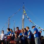 Einlösung des Kulturpreises durch die Jugendsegler-Band